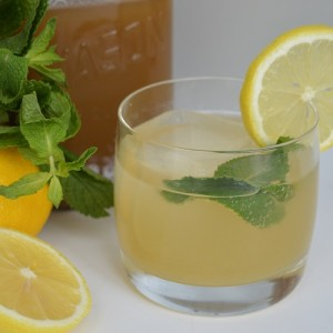 Ginger Mint Lemonade - Drink with Stuff