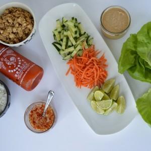 Lettuce Cups - Spread