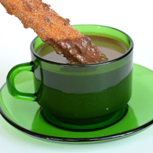 Pumpkin Spiced Spanish Hot Chocolate - Dipped Churro 3