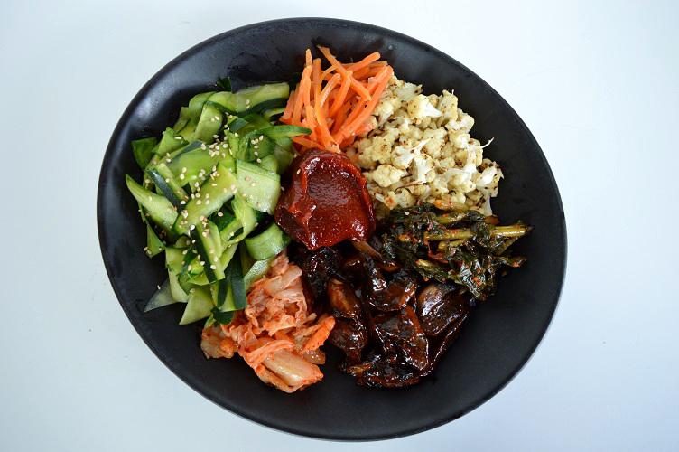 Detox Bibimbap - Dish Whole