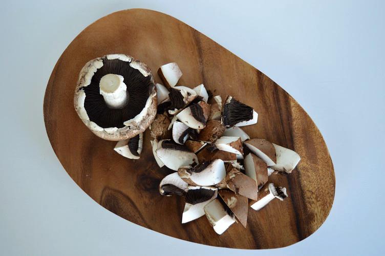 Detox Bibimbap - Mushrooms