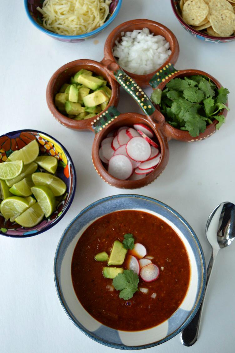 Mexican Lentil Soup - Soup Spread