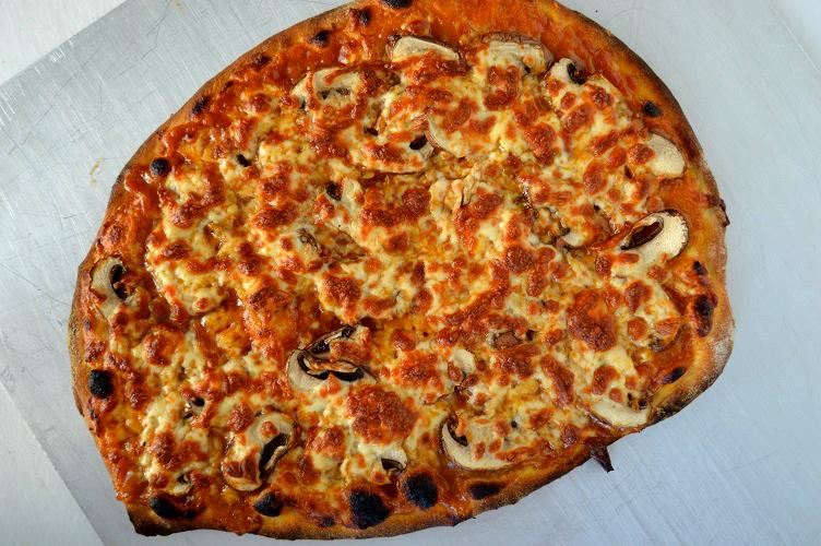 Thai Pizza - Baked