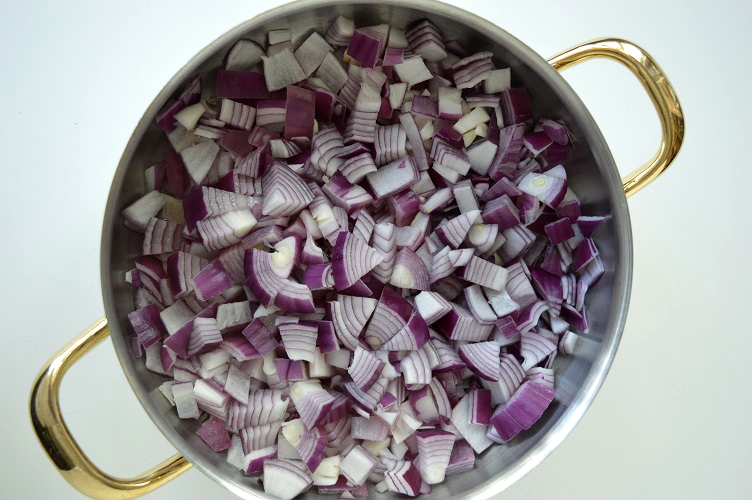 Curry Made Easy - Chopped Onions