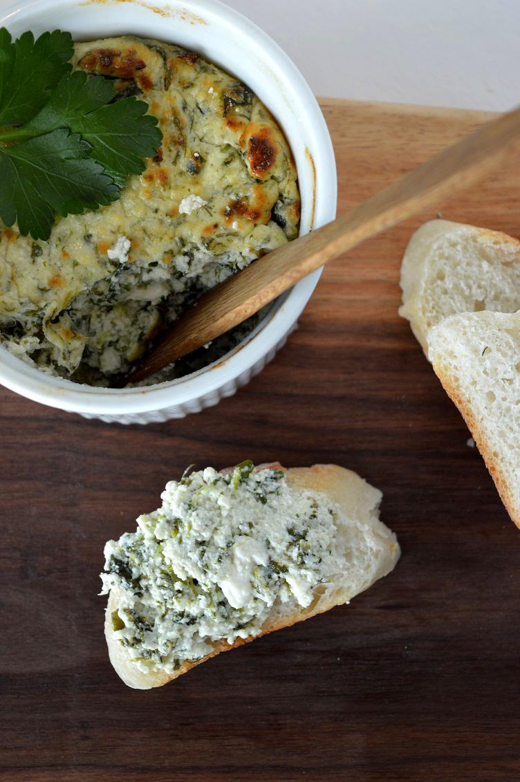 Spinach Feta Ricotta Dip - Spread