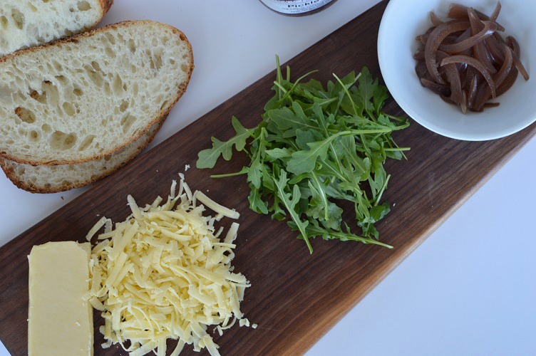 Grilled Cheese with Pickle - Ingredients