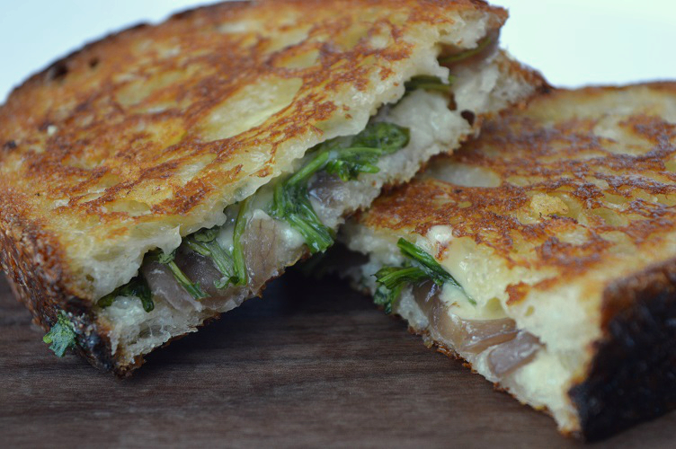 Grilled Cheese with Pickle - The Grilled Cheese 3