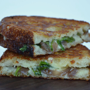 Grilled Cheese with Pickle - The Grilled Cheese Stacked 2