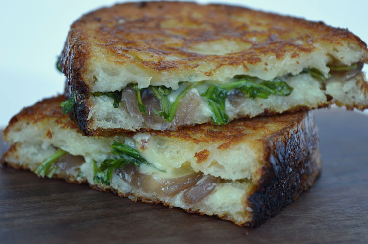 Grilled Cheese with Pickle - The Grilled Cheese Stacked